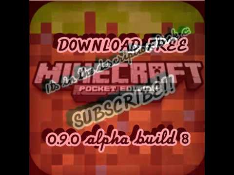 Minecraft pe 0.9.0 alpha build 8 DOWNLOAD FREE