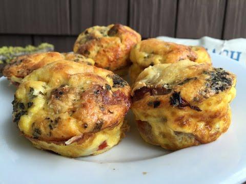 Pizza Egg Muffins (gluten free)