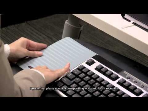3M adjustable keyboard tray #AKT60LE