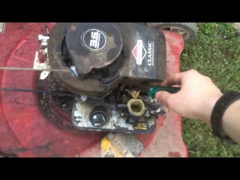 Murray 20 lawnmower throttle
