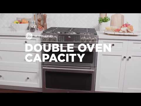 6.7 cu ft Total Double Oven Capacity