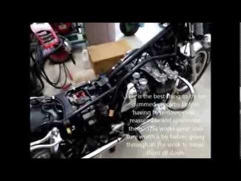 Seafoam Motorcycle Carburetors