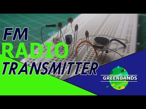 How to make FM radio TRANSMITTER at home on breadboard