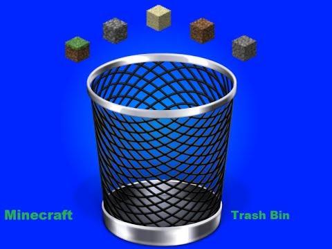 Minecraft Compact Garbege Disposal