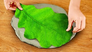Decor Ideas || One Dollar Cement And Polymer Crafts For Your Home