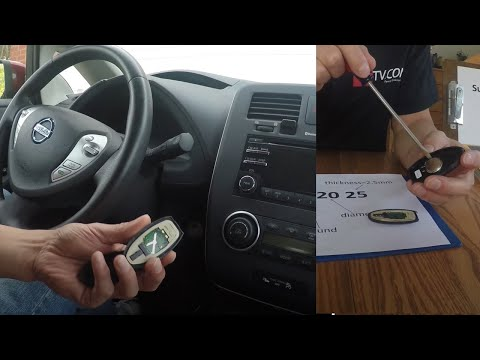 SmartKey Fob Battery  Dies-- How To Enter Car, Start Engine, or Replace Battery