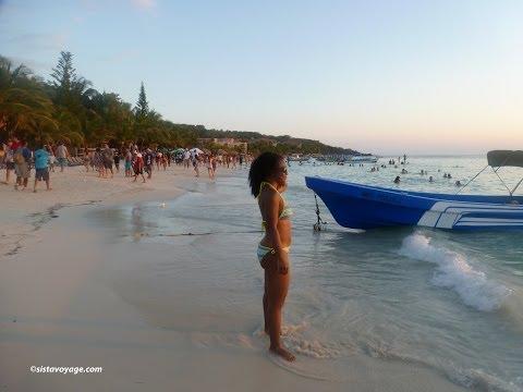 SistaVoyage AKA ChakaKhanian Jumps in The Caribbean Sea!!!