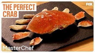 Gordon Ramsay Demonstrates How To Cook The Perfect Crab | Season 9 Ep. 5 | MASTERCHEF