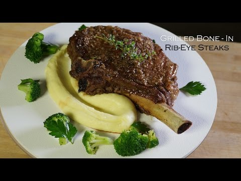 Rib-Eye Steaks - How to Grill - Bruno Albouze - THE REAL DEAL