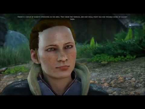 Dragon Age Inquisition - Scout Harding at the Storm Coast