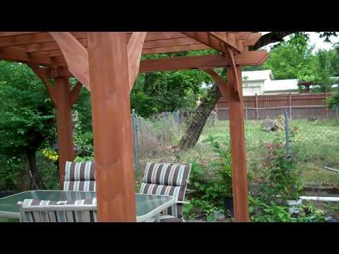 Pergola 12'x 10' Backyard discovery step by step