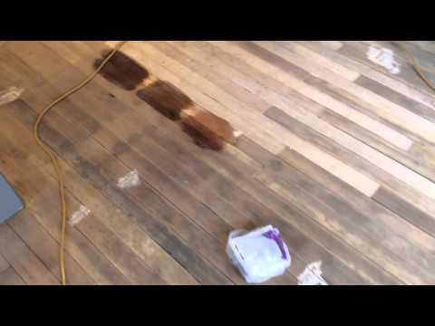 Wood floors water damage