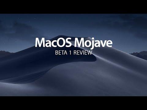 Dark Mode Rises —MacOS Mojave Beta 1 Review