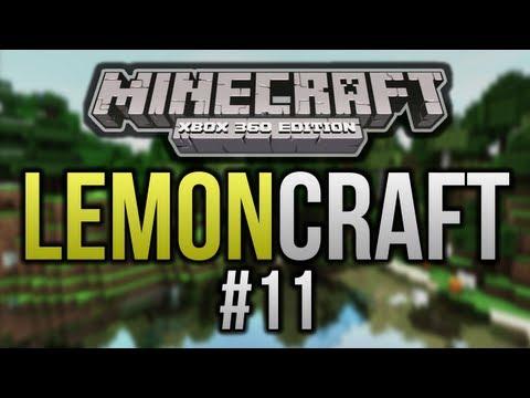 LemonCraft - #11 - Flooded NPC Village! (Minecraft Xbox 360)