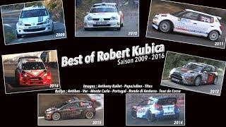 Robert Kubica -  Highlights Rallye Saison 2009 à 2016