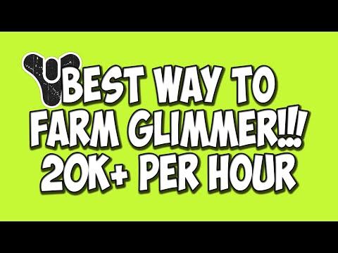 Best Way To Farm Glimmer 20k+ Per Hour (Destiny Tutorials)