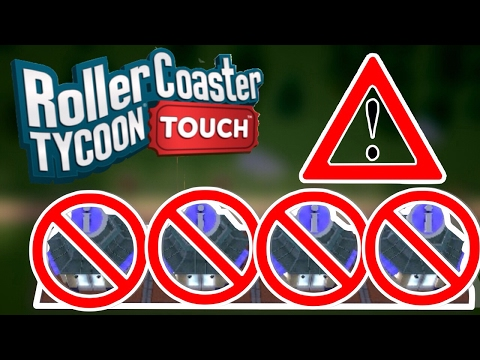 DO NOT USE THE INFORMATION CENTERS[Patched] | RollerCoaster Tycoon Touch | RCT Touch