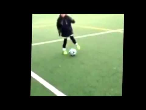 Football skills from a young guy at 11 years old