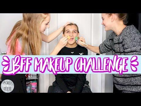 BFF MAKEUP CHALLENGE!