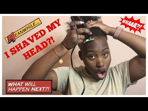 I Shaved My Head?!