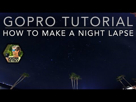 GoPro HERO 6/5/4 Tutorial: Night Lapse