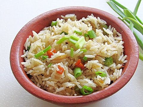 Easy Vegetable Fried Rice Recipe - How To Make Restaurant Style Vegetable Fried Rice   Nisa Homey