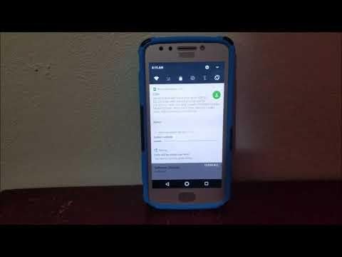 MetroPCS Motorola Moto E4 Software Update