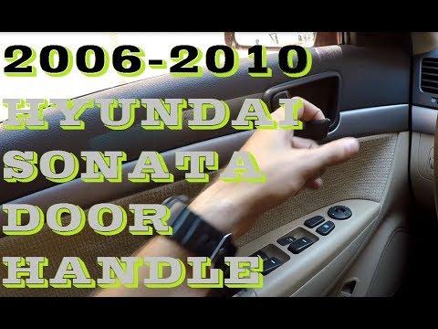 How to replace inside door handle Hyundai sonata 2006-2010
