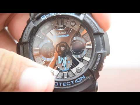How to adjust time on Analog Digital G Shock!!!