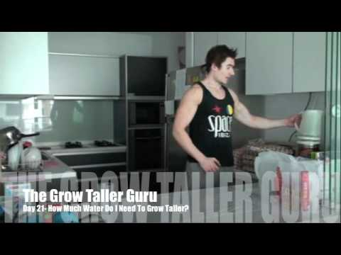 How Much Water Do I Need To Grow Taller? GTG (Grow Taller Guru)