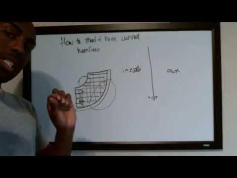 How to Hem Curved Hemlines