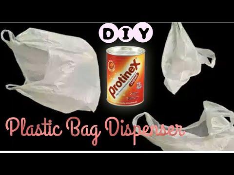 DIY Plastic Bags Dispenser - Make Plastic Bag Organizer (Best Out Of Waste)