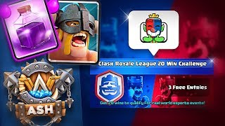 1st Attempt at the 20 Win Clash Royale Challenge! - nickatnyte