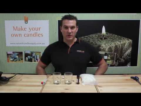 Eroma Candle Making: How to make a soy wax container candle