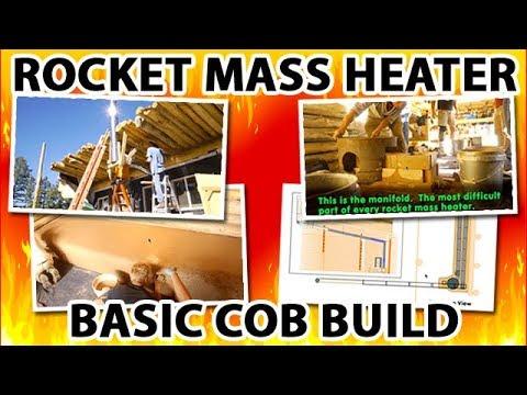 Basic Cob Build of a Rocket Mass Heater - Excerpt from Better Wood Heat: DIY Rocket Mass Heaters