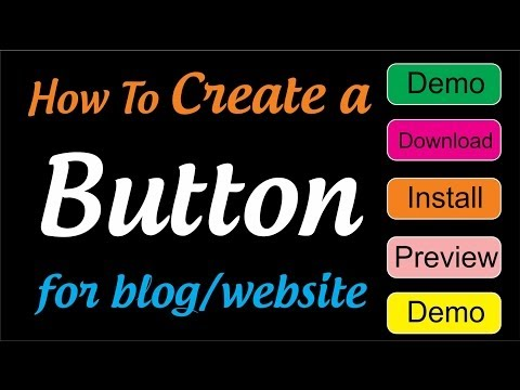 Create a button for Blog/Website   online button generator tools
