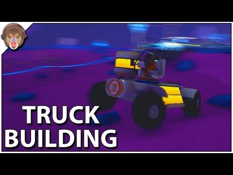 Astroneer - How to build a Truck, Trade Platform (Astroneer Gameplay #6)