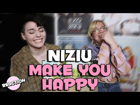 NIZIU - MAKE YOU HAPPY ★ MV REACTION