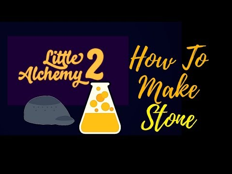 Little Alchemy 2-How To Make Stone With 2 Elements