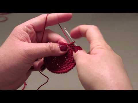 How to knit a kippah- step 5