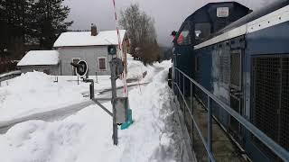 Passage du chasse neige au Conifer le 2 février 2019