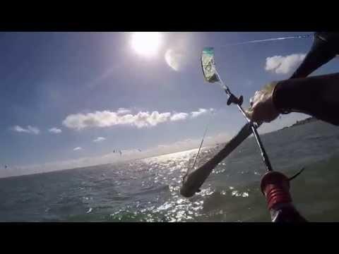 A Day Kitesurfing In UK 2015