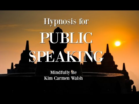 Hypnosis to help overcome fear of public speaking