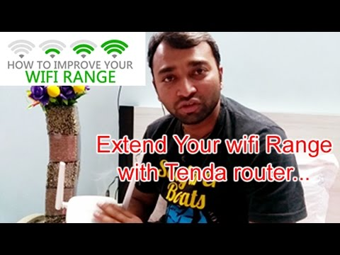 Extend your WiFi range with router step by step...