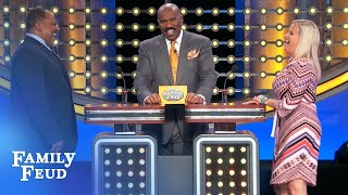 Sex... on a SEESAW? | Family Feud