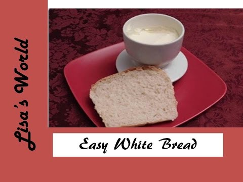Easy White Bread With Hand Kneading