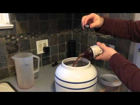 Making A Mother Of Vinegar: Part 1
