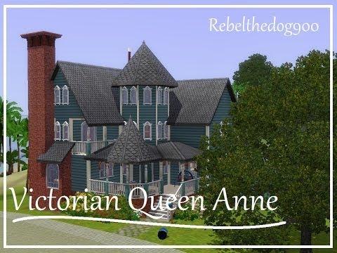 The Sims 3 Speed Build - Victorian Queen Anne House (Aluna Island)