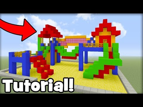Minecraft Tutorial: How To Make A Playground House