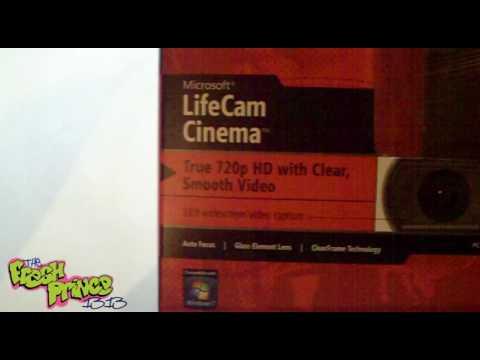 Microsoft LifeCam Cinema Unboxing